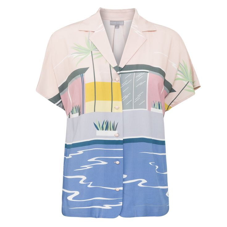 Buy the Vacation Shirt at Oliver Bonas. Enjoy free worldwide standard delivery for orders over £50.