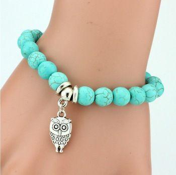 Owl Pendant Bracelet //Price: $ 8.99 & FREE Shipping //     #jewelry #jewels #jewel #fashion #gems #gem #gemstone #bling #stones   #stone #trendy #accessories #love #crystals #beautiful #ootd #style #accessory   #stylish #cute #fashionjewelry  #bracelets #bracelet #armcandy #armswag #wristgame #pretty #love #beautiful   #braceletstacks #earrings #earring