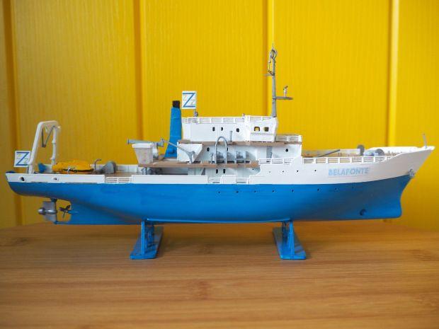The Life Aquatic Team Zissou Belafonte Model Boat, Wes Anderson