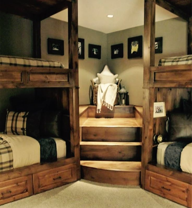 Pin By Taylor Elrod On Home Home Bunk Beds With Stairs