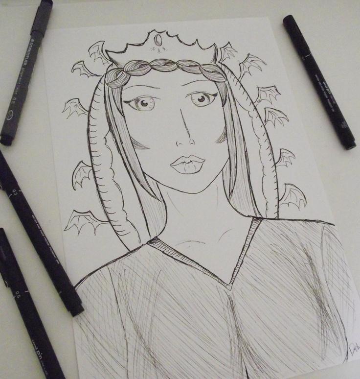 A girl in ink By Debora Nunes