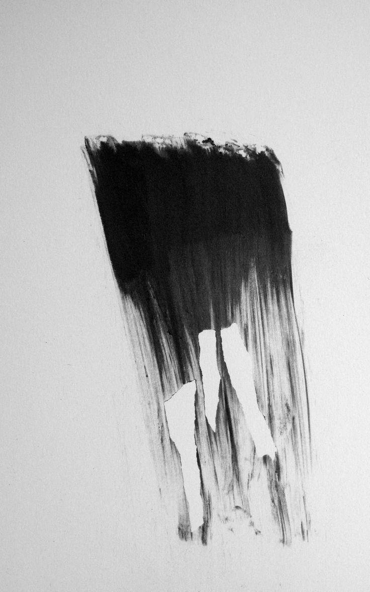 """Missing Pieces, Black Waterfall"" by Allan Redd, 2012."