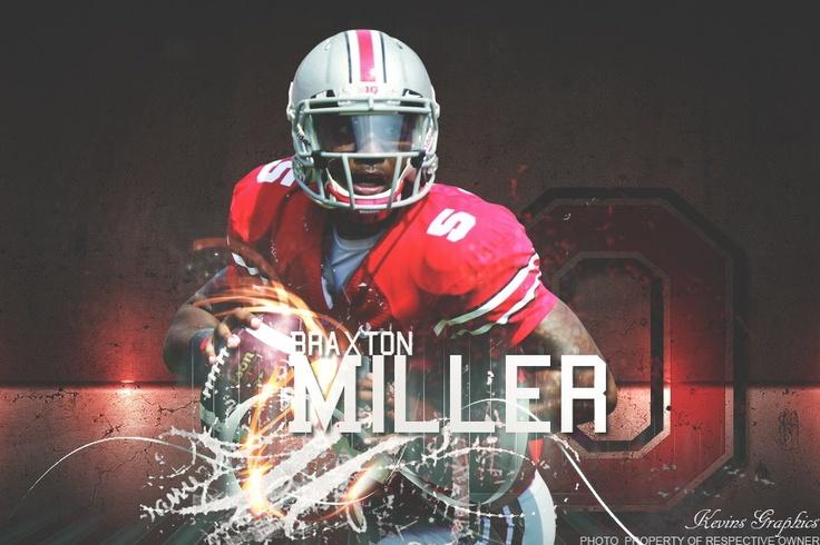 Braxton Miller,,,OSU QB!-BY KEVIN DEARTH