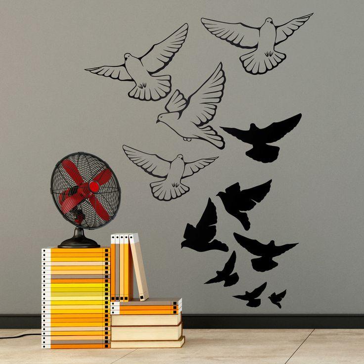 M s de 25 ideas incre bles sobre vinilos de aves en - Teleadhesivo vinilos decorativos espana ...
