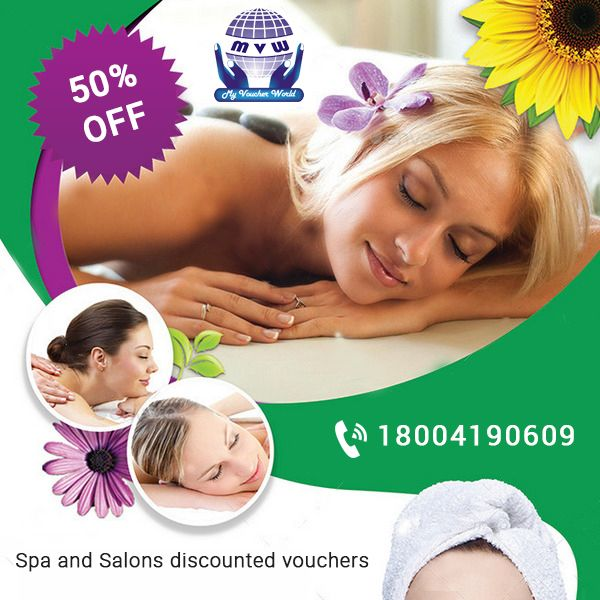 Spa and Saloon discounted Vouchers Upto 50% off on every deal in Branded #Saloons like Jawed Habib, Trendze Get many more offers in Voucher Series in just Rs 1999/-