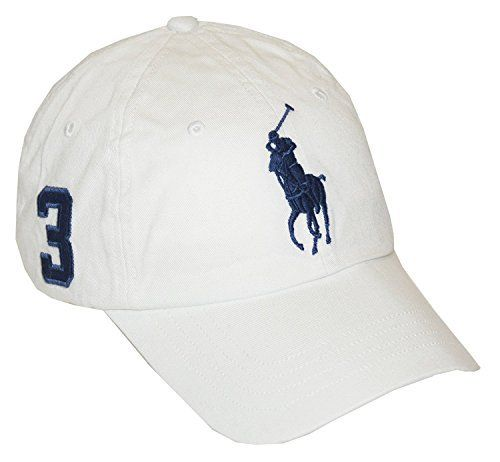 """Polo Ralph Lauren's big pony logo, an embroidered 3 at the side, and a leather back strap give this cotton twill cap a ruggedly handsome look. Authentic Ralph Lauren quality guaranteed.       Famous Words of Inspiration...""""Regret for the things we did can be tempered by..."""