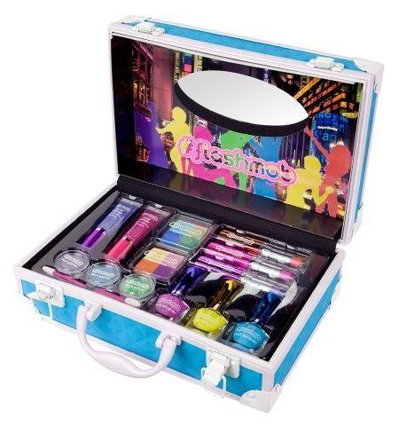 #blue #azul #maletin #color #flashmob #maquillaje #makeup