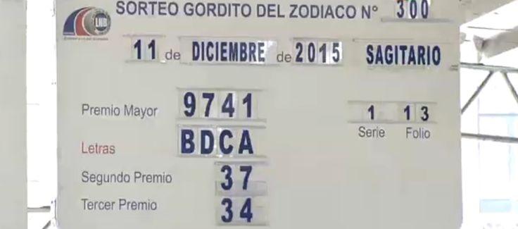 Gordito del Zodiaco Millonario resultados viernes 11/12/2015. Ver resultados: http://wwwelcafedeoscar.blogspot.com/2015/12/sorteo-gordito-del-zodiaco-millonario.html