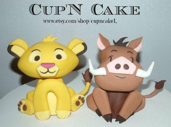 Pumba Cake: 8 Best THE LION KING Fondant Cake Images On Pinterest