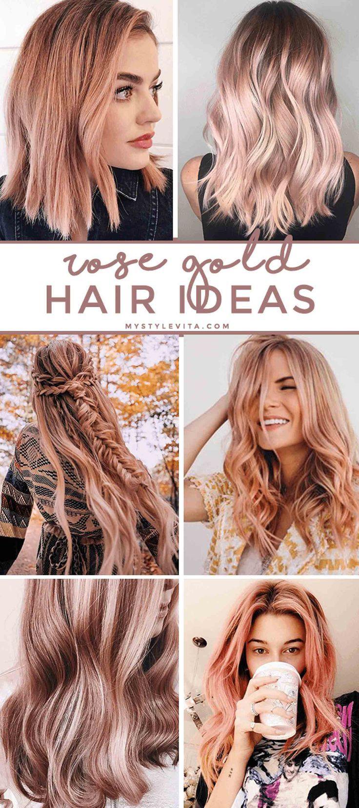 Rose Gold Hair Ideas Pink Hair Ideas Hairstyle Kristiness Rosegoldhairtint Hair Tint Hair Styles Hair Color Rose Gold