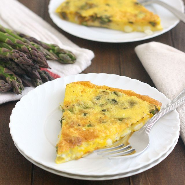 Asparagus and Gruyère Frittata by Tracey's Culinary Adventures, via Flickr