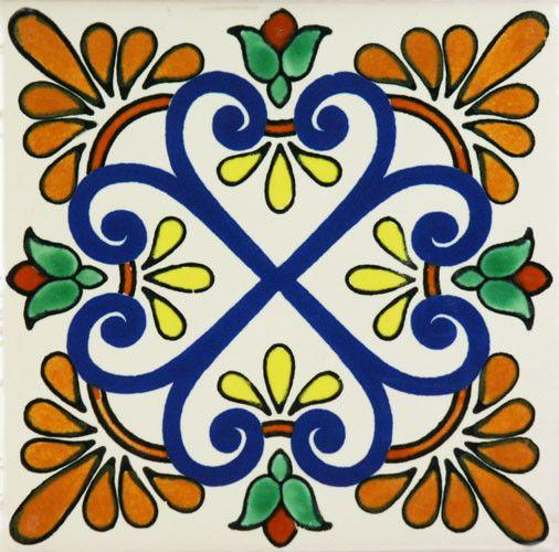 Zacatecas II Tile Coaster & Trivet Sets