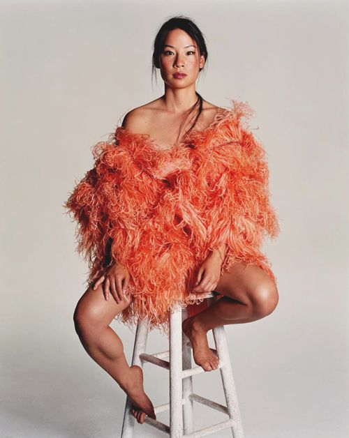 lucy liu for allure magazine | 2000