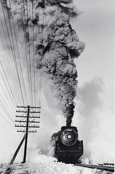 David Plowden/ Canadian Pacific Railway, Vaudreiul, PQ, 1960