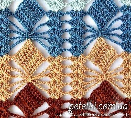 crochelinhasagulhas: Entremeio em crochê