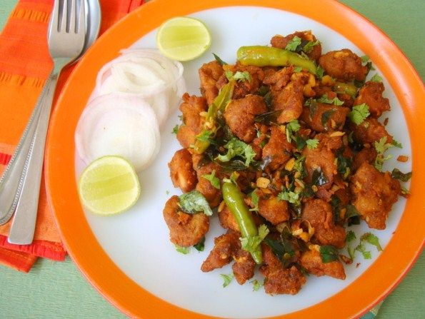 Recipe Chicken 65 In Indian Style