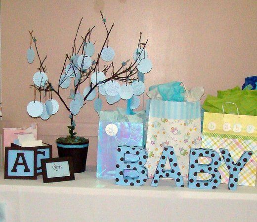 gift table ideas baby shower ideas pinterest