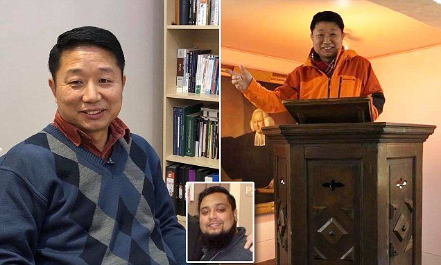 Paul Song, 48, was dismissed from his role at HMP Brixton by his Muslim boss after allegations of 'extremist' Christian teaching. Mr Song denies the claims made against him.