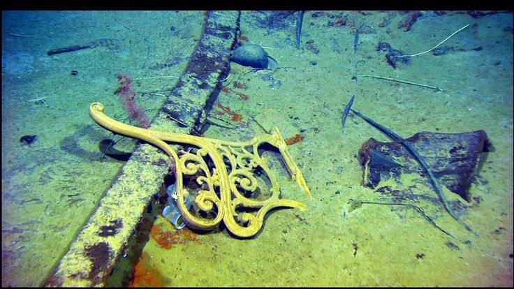 Titanic Underwater Bodies   Dr Robert Ballard's stunning photographs of the Titanic, 12,500 feet