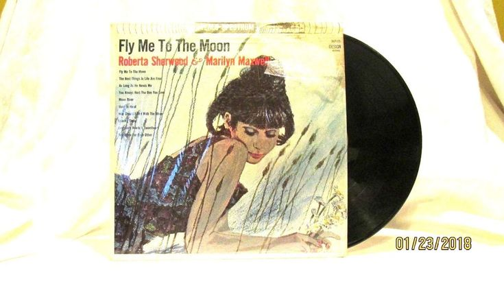 1964 Fly Me To The Moon Vinyl LP 33 Design Records DLP 175 Jazz  #Blues