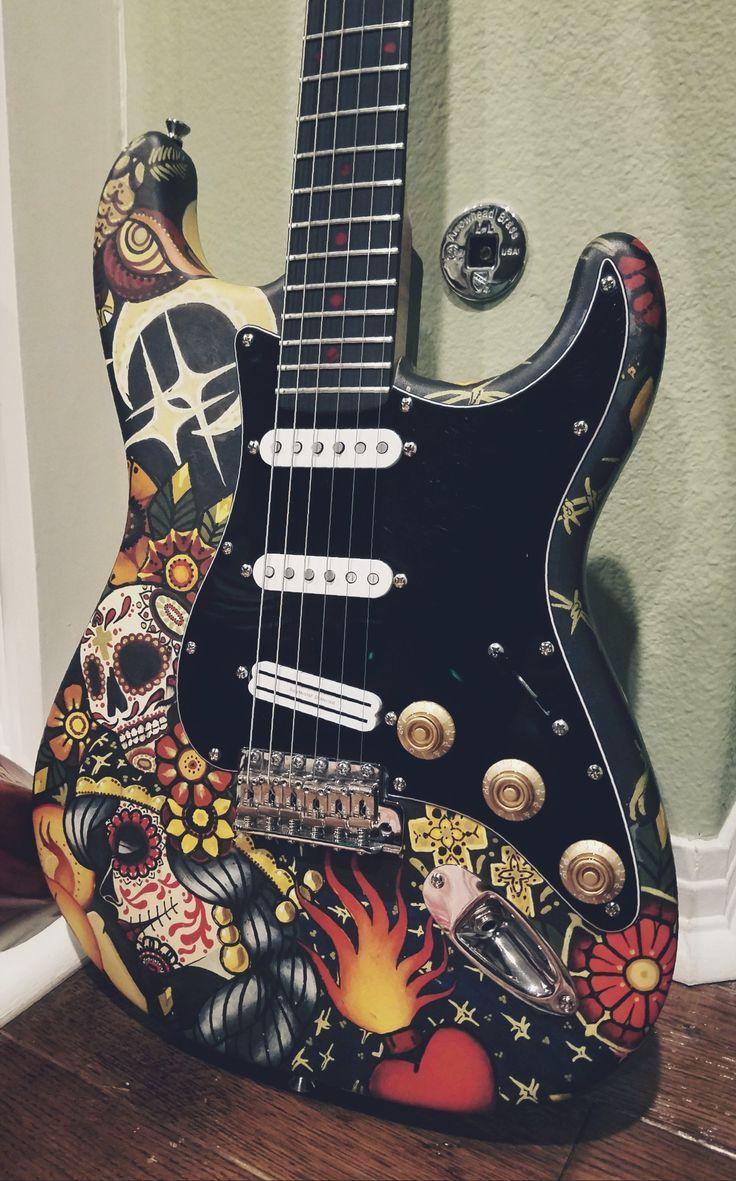 453 best Guitars images on Pinterest   Fender guitars, Guitar art ...