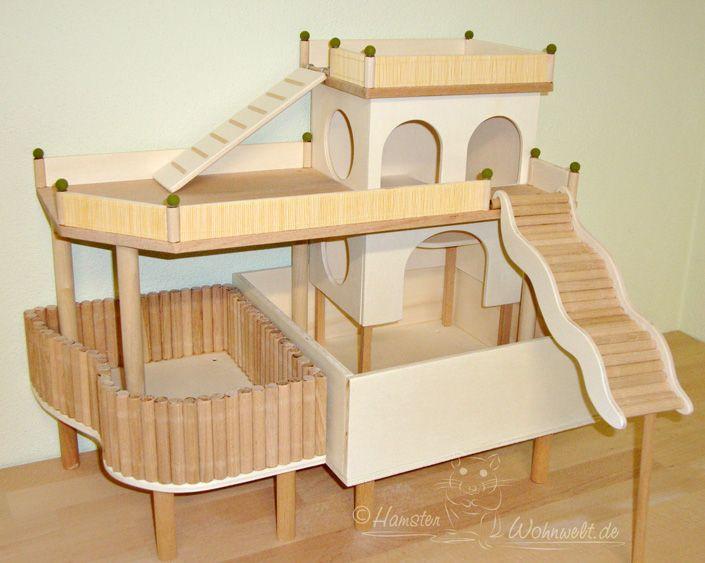 die besten 25 kleintierstall ideen auf pinterest hamsterk fig meerschweinchen hutch und. Black Bedroom Furniture Sets. Home Design Ideas