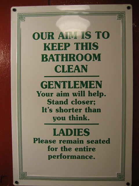 Restaurant Bathroom Signs 85 best commercial restroom images on pinterest | commercial