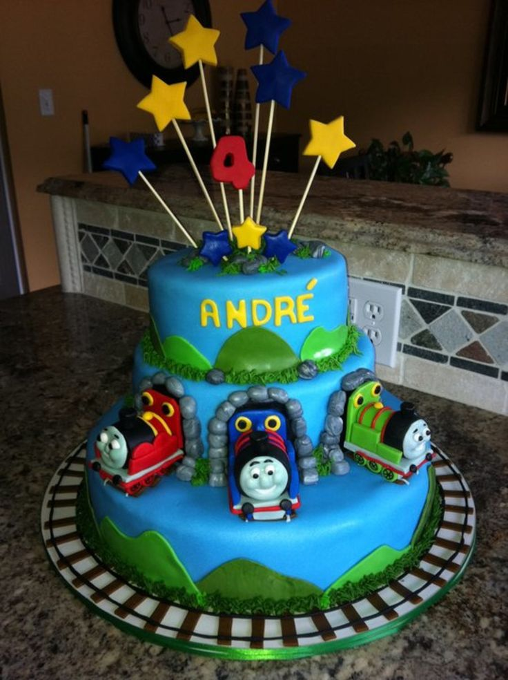 Thomas the Train and Friends Cake