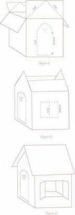 49 Ideas For Diy Box Carton Cardboard Playhouse