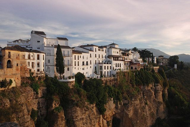 Cliff-top Ronda - Andalucia by © Roy McGrail
