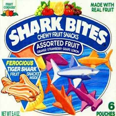 "These snacks made with ""real fruit"": 