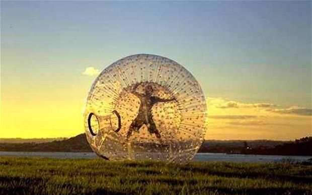 #Traveltip: If you want to try something new, Zorbing could be one of the options. Have you experienced it?