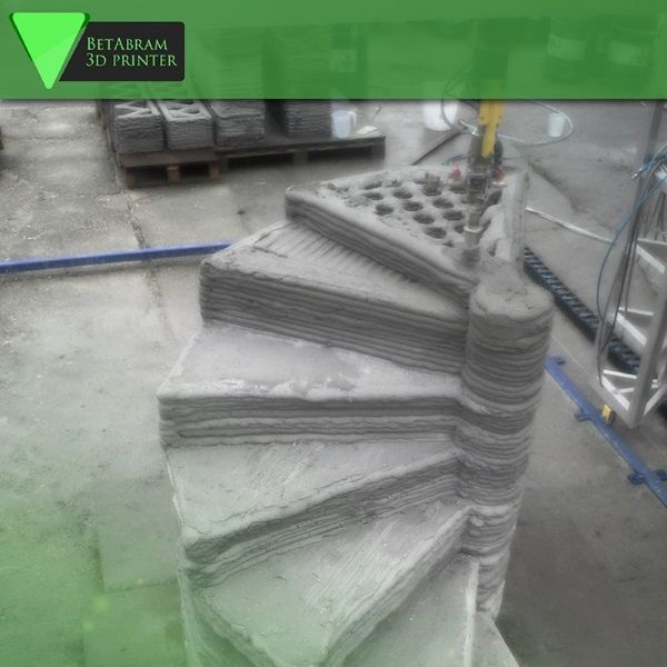 3ders.org - Slovenian construction pioneers BetAbram share footage of their 3D house printers in action | 3D Printer News & 3D Printing News