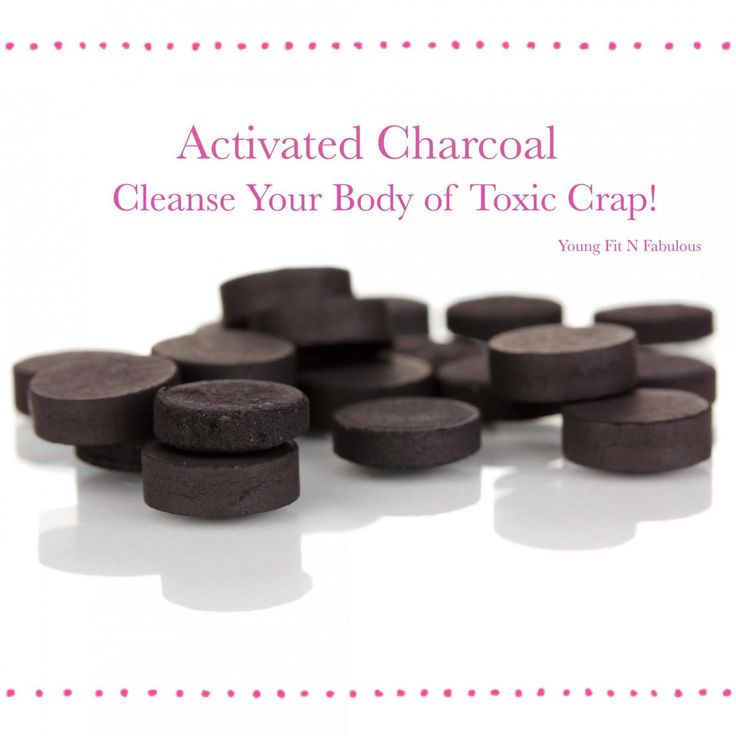 Activated Charcoal Pills Kick Toxins Ass!