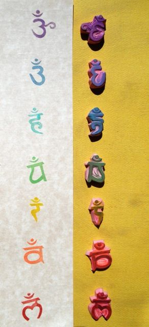 chakra stamp set by sugarskull7, via Flickr