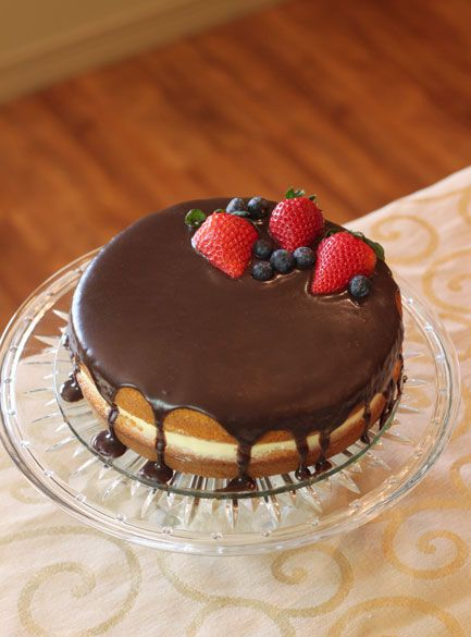 Recipe Boston Cream Pie | How to make Boston Cream Pie  Sweet treat dessert. Yummy!  love. Food & drinks
