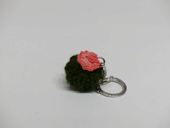 Edna #cactus #tricot #knitting #porte-clé