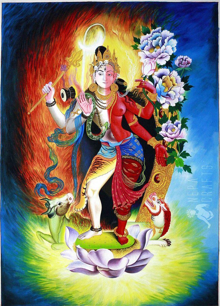 shiva paintings | http://www.garudaexpress.com/NepaCrafts/images/Thangka%20Paintings ...