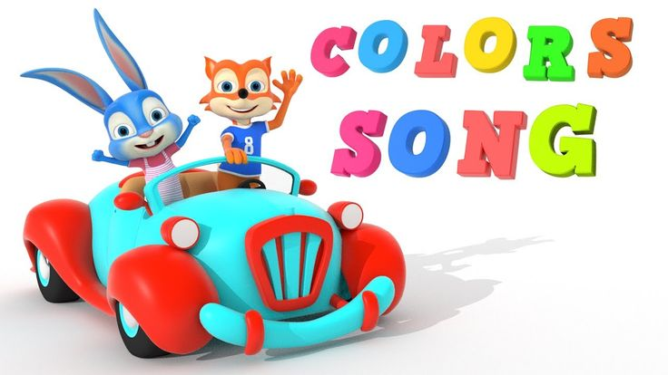 Color Song for Kids | Nursery Rhymes for Kids  | Learn Colors with Cars ...