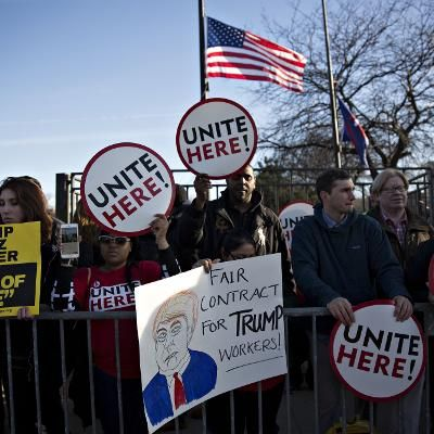 Viral: Donald Trump Cancels Chicago Event Amid Protests and Chaos