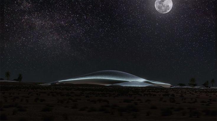 Zaha Hadid Architects presenta la siguiente animación, con su propuesta para la nueva sede de Bee'ah, compañía especializada en el tratamiento de aguas residuales.