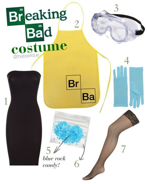 7 Flashback DIY Halloween Costumes - easy diy breaking bad jesse pinkman + walter white costume.  perfect for themed college mixer  via thebeetique.blogspot.com