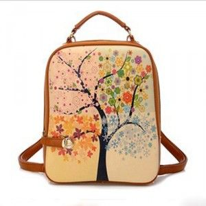 $109.00 Cheap MCM Worldwide Backpack Neriifolia Pattern