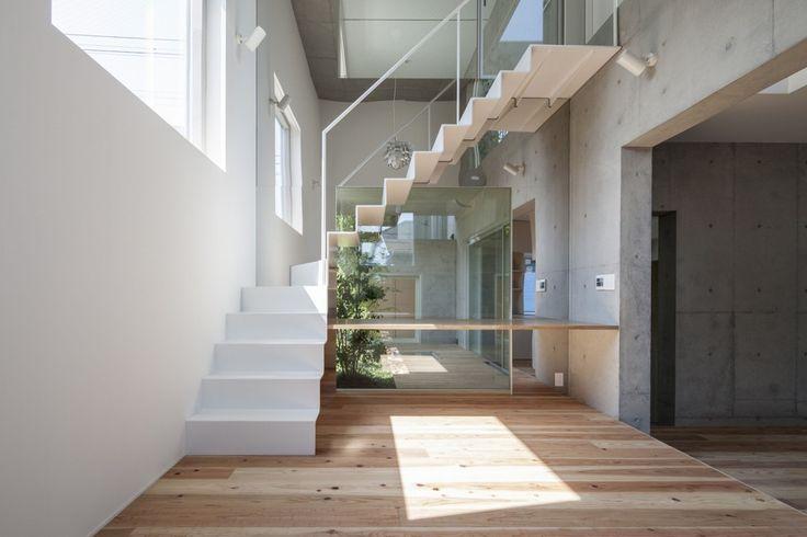 contemporary stair