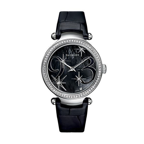 If you like keeping up with the latest fashion and accessory trends, Ladies' Watch Davidoff  at the best price.
