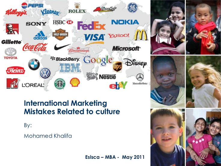 ooops.....international-marketing-mistakes-related-to-culture by Mohamed Khalifa  via Slideshare