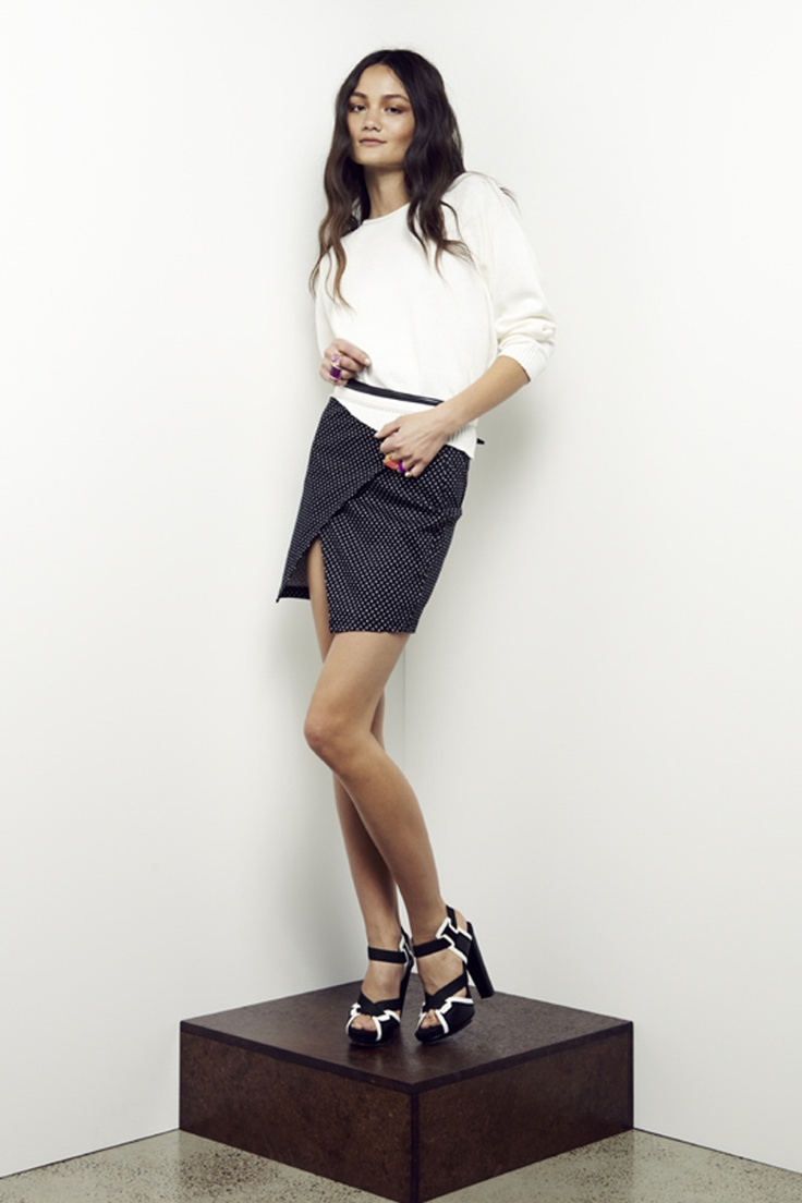 Maurie and Eve Madison Mini Skirt