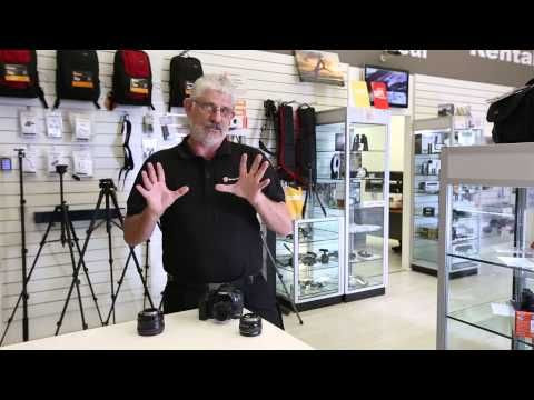 Youtube video Review of 50mm Canon Lenses Canon 50mm 1.8 1.4 1.2 L   Cameras Direct