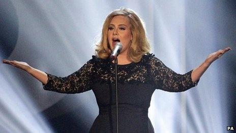 UK music downloads hit one billion mark led by Adele