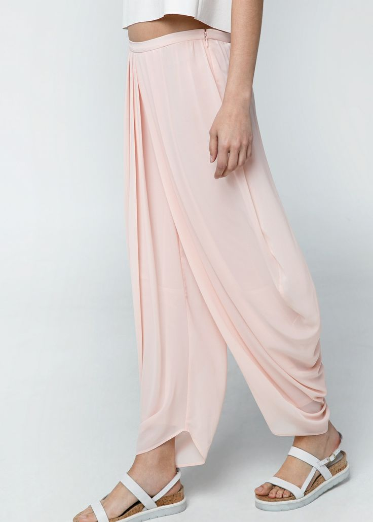 Wrap harem trousers #MNG